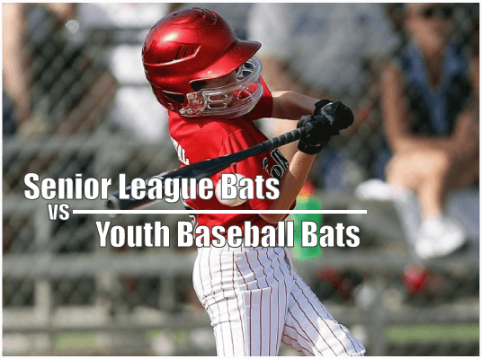 Senior League Bats and Youth Baseball Bats